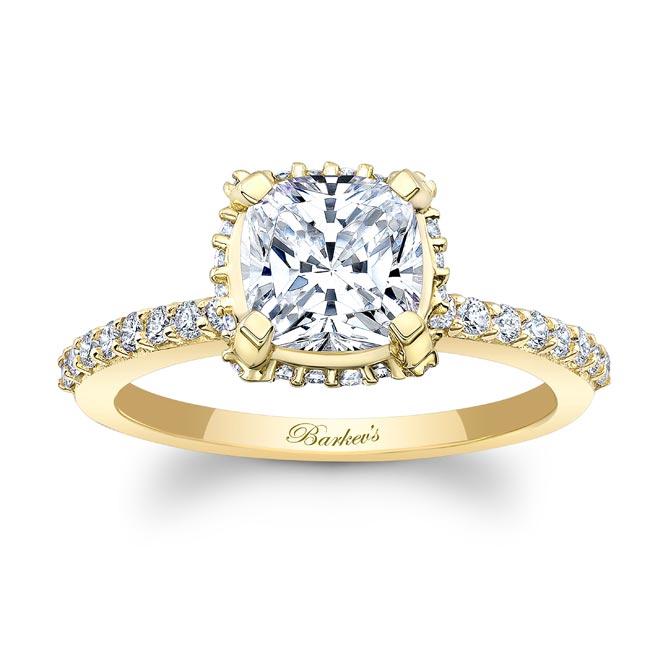 Moissanite Engagement Ring MOI-8159L Image 1