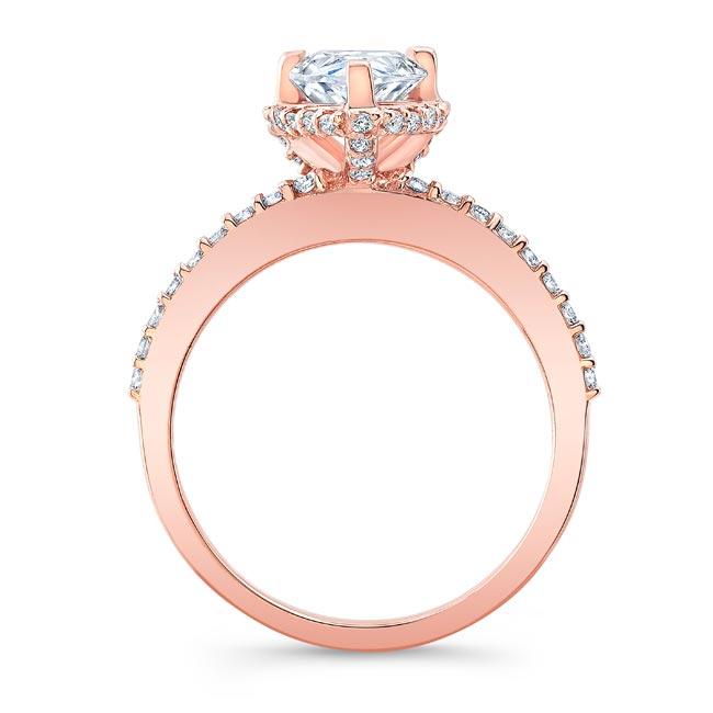 Teardrop Diamond Ring 8160L Image 2