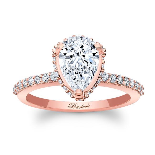 Teardrop Diamond Ring 8160L Image 1