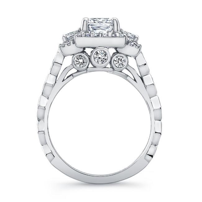 Vintage Three Stone Engagement Ring 8161L Image 2