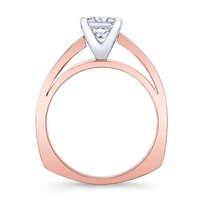 Princess Cut Diamond Solitaire Engagement Ring 8165L Image 2