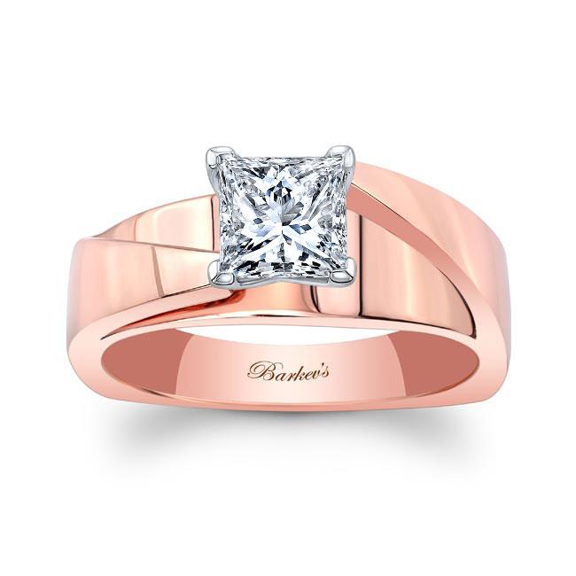 Princess Cut Diamond Solitaire Engagement Ring 8165L