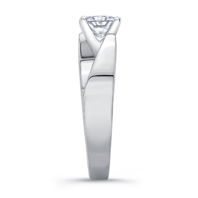 Princess Cut Diamond Solitaire Engagement Ring 8165L Image 3
