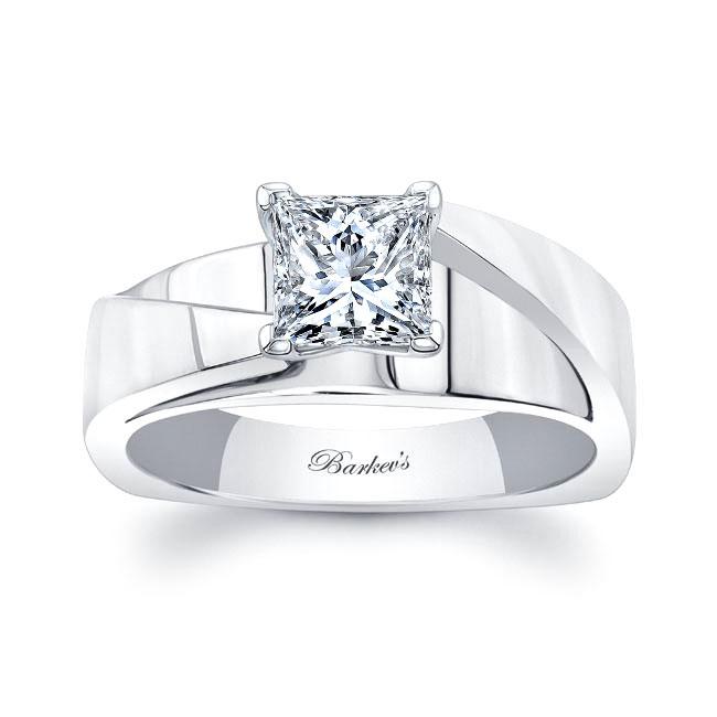 Princess Cut Diamond Solitaire Engagement Ring 8165L Image 1