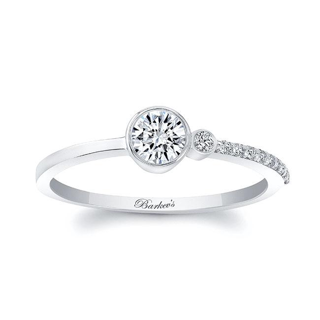 Olivia Unique Diamond Promise Ring Image 1