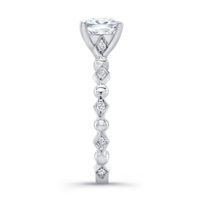 Art Deco Princess Ring Image 3
