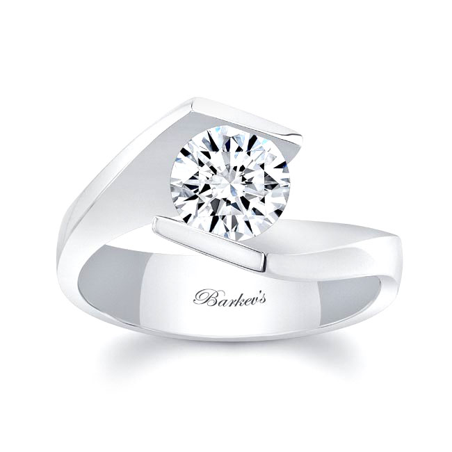 Solitaire Engagement Ring 8193L Image 1