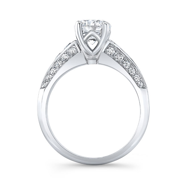 Channel Set Black Diamond Ring Image 2