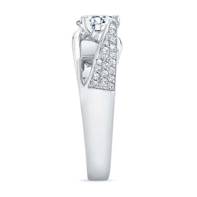 3 Row Diamond Ring Image 3
