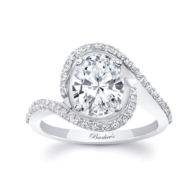 2 Carat Oval Diamond Ring Image 1