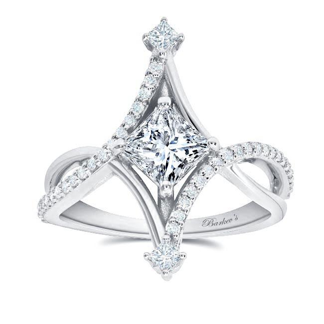 Unusual Engagement Ring Image 1