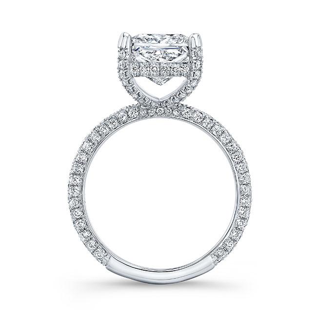 Hidden Halo Engagement Ring Image 2