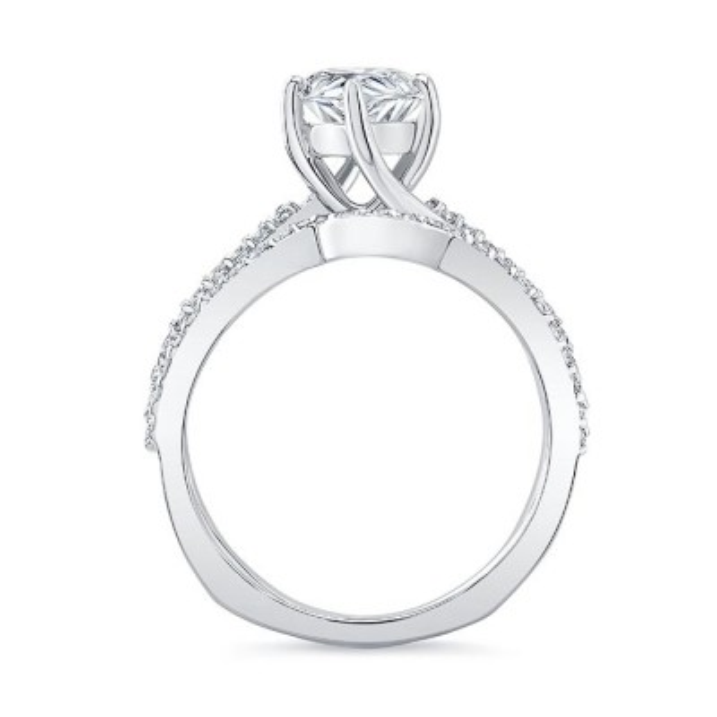 Pear Shaped Twist Bridal Set Image 2