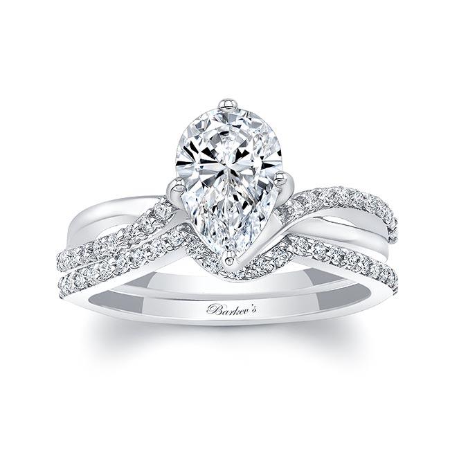 Pear Shaped Twist Bridal Set Image 1