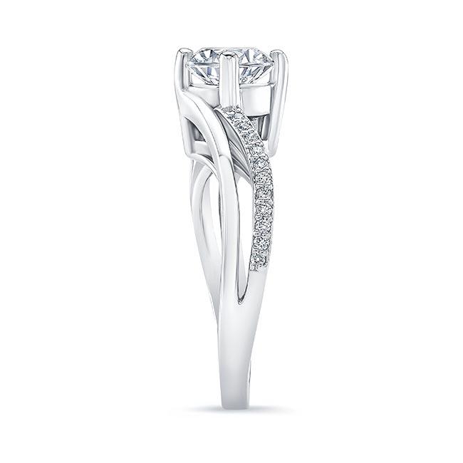 Split Shank Engagement Ring Image 3