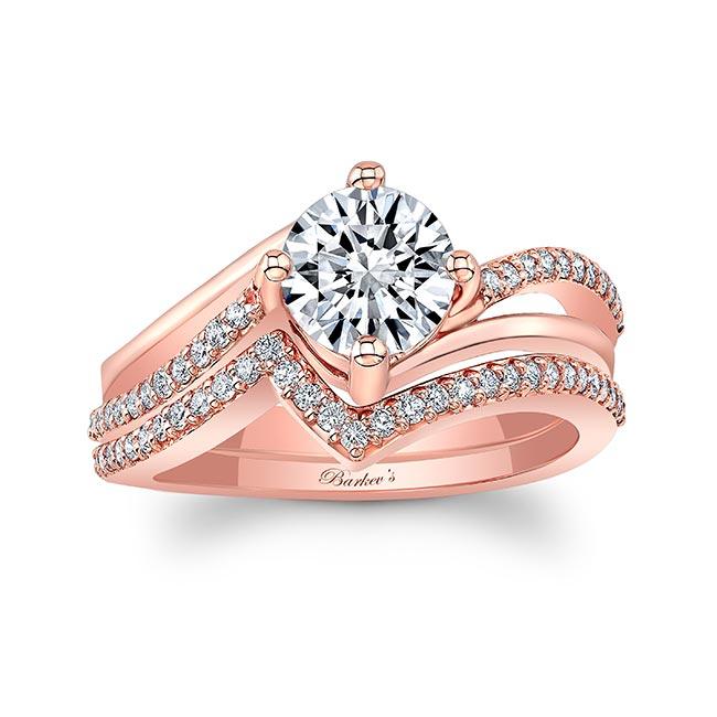 Split Shank Engagement Ring Set