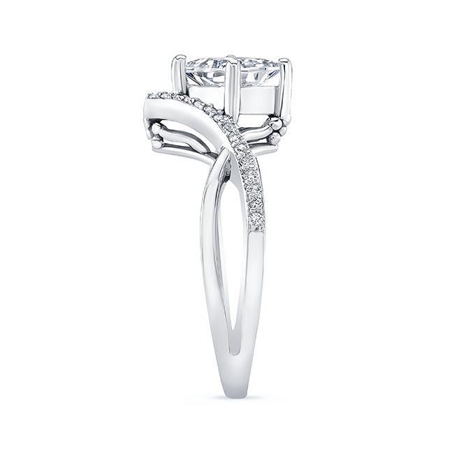 Unique Princess Cut Engagement Ring Image 3