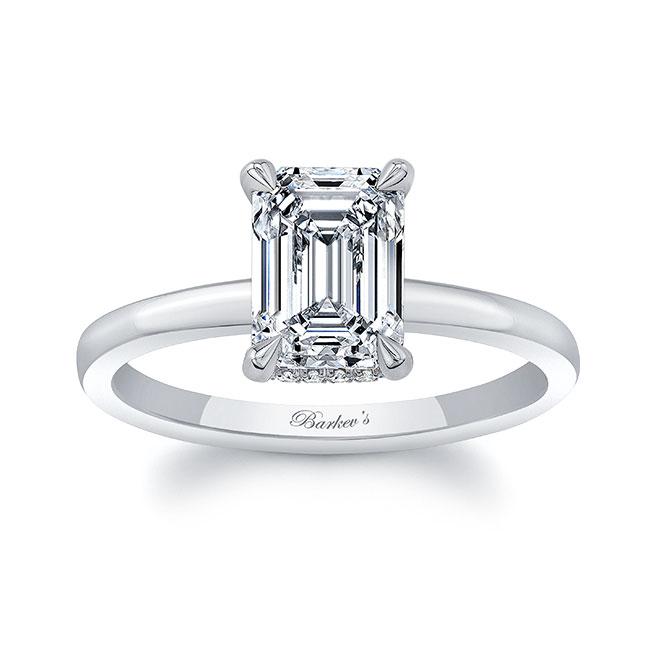 Lia Emerald Cut Engagement Ring