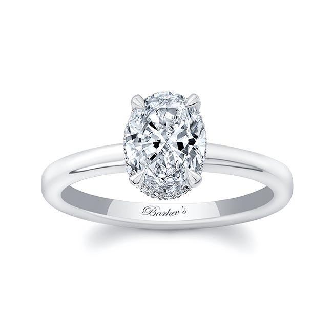 Lia Oval Engagement Ring