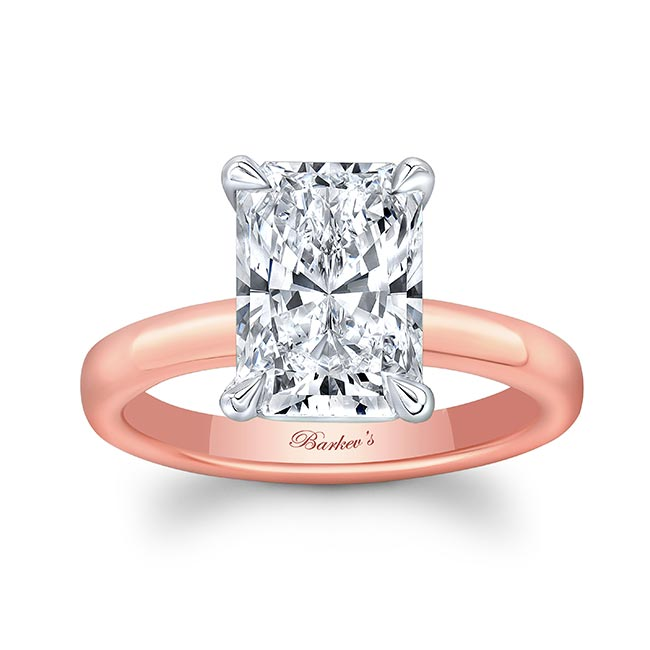 Lori Radiant Cut Solitaire Engagement Ring
