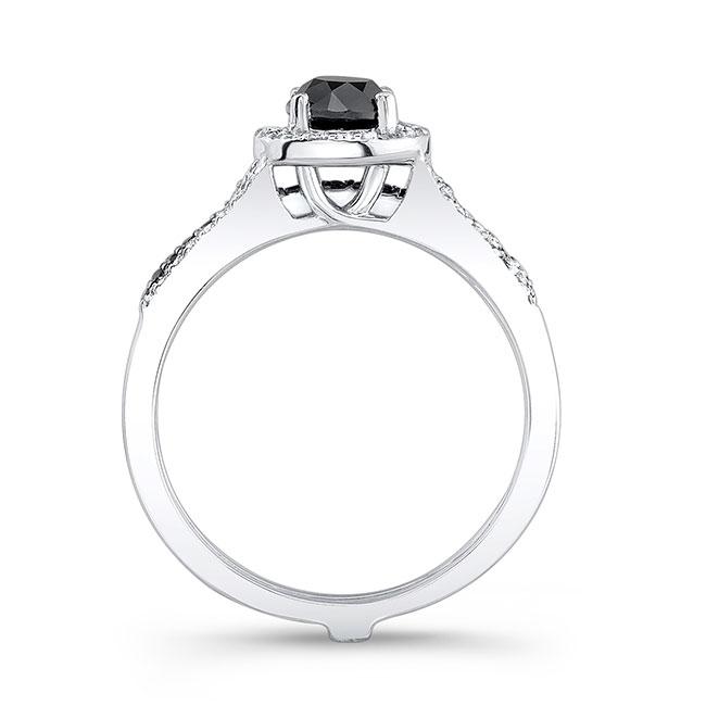 Black Diamond Bridal Set BC-7875SBK Image 2