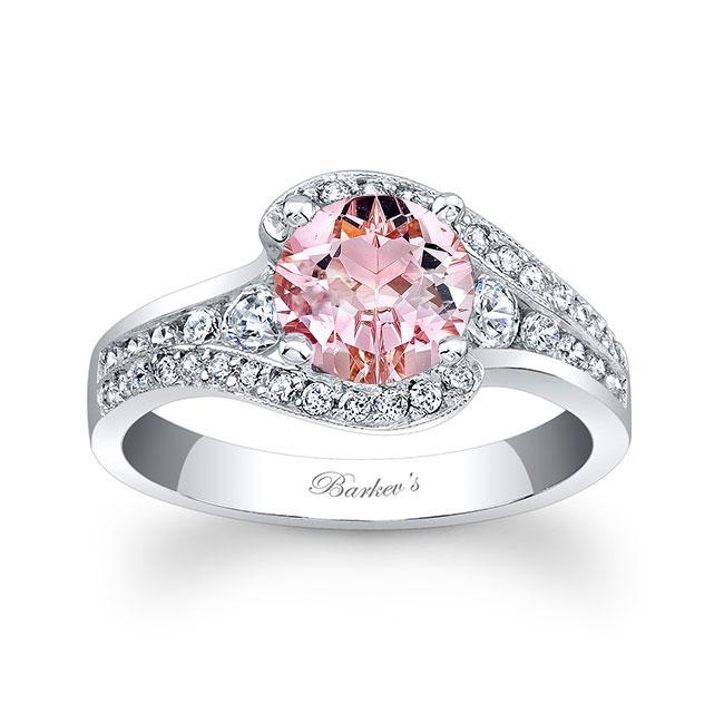 Unique Morganite Engagement Ring