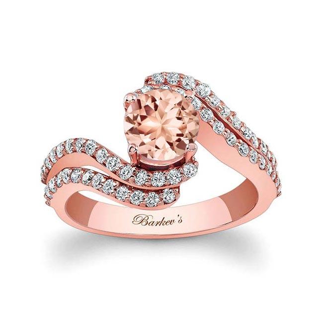 Morganite Engagement Ring MOC-7912L Image 1
