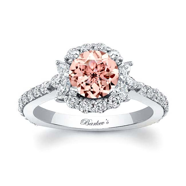 Morganite Engagement Ring MOC-7930L