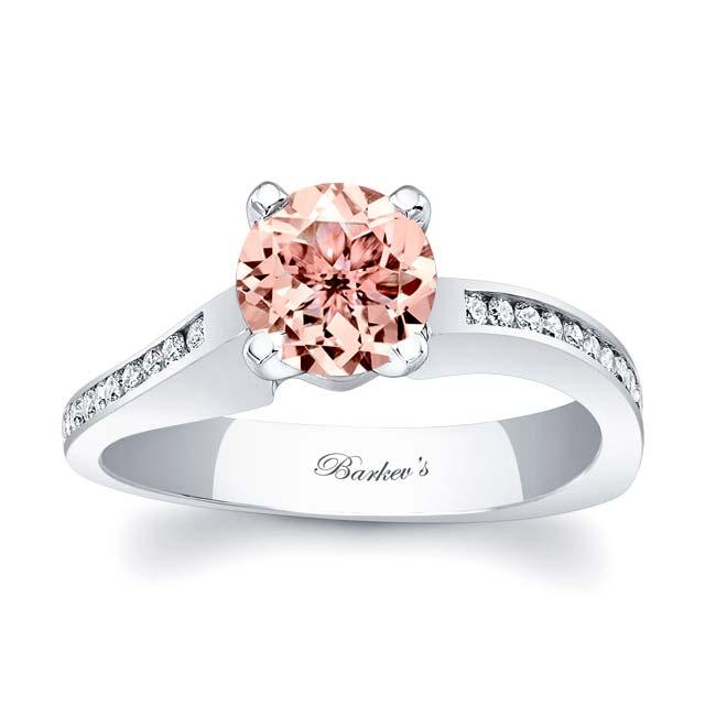 Morganite Engagement Ring MOC-7931L Image 1
