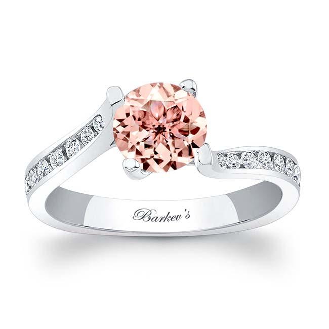 Morganite Engagement Ring MOC-7938L Image 1
