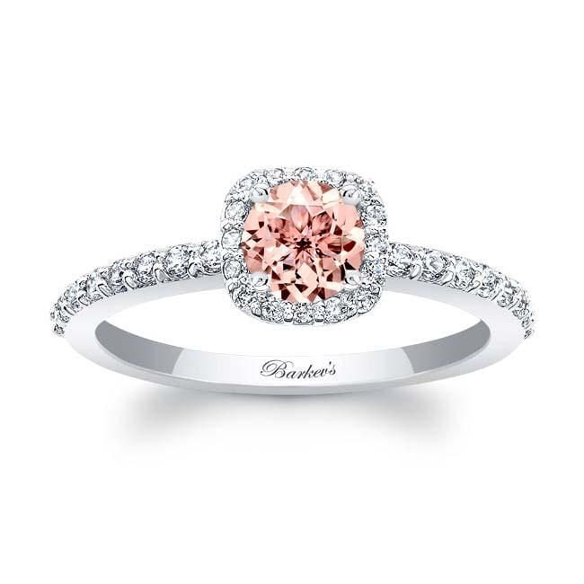 Morganite Engagement Ring MOC-7961L