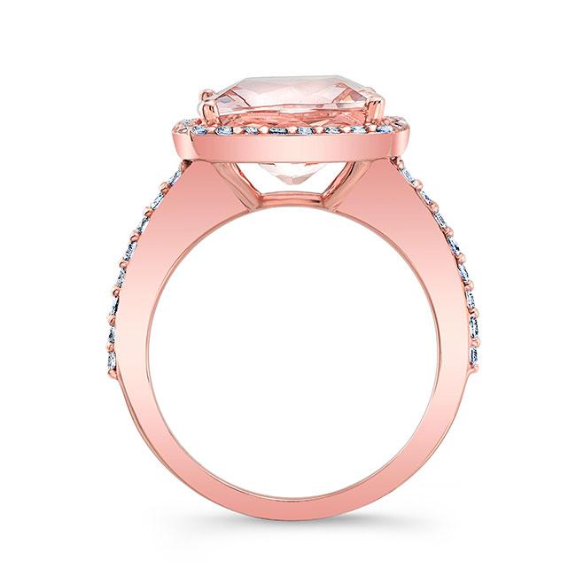 5 Carat Morganite Ring Image 2