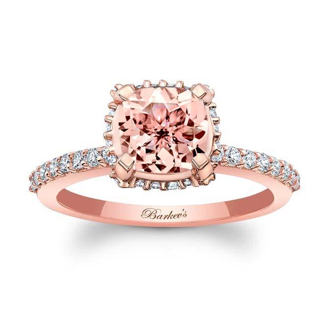 Morganite Engagement Ring MOC-8159L Image 1