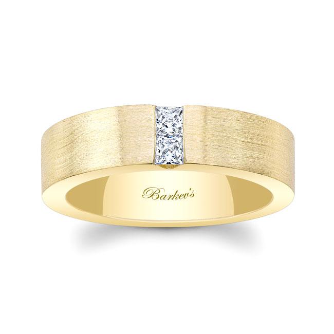 Princess Cut Diamond Wedding Band 4856G Image 1