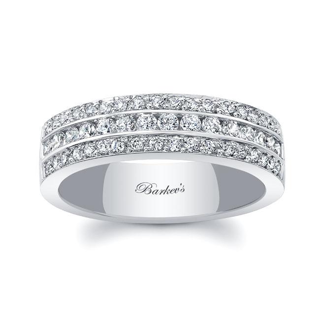 Diamond Wedding Band 6502L Image 1