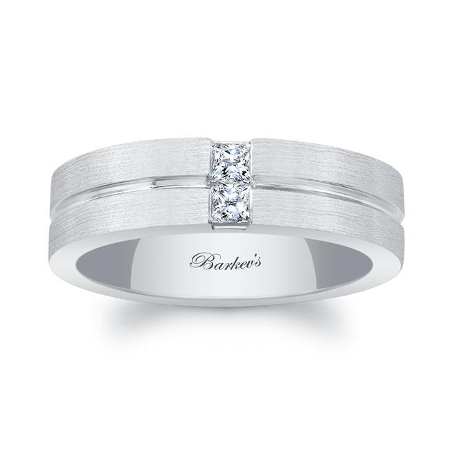 Princess Cut Diamond Wedding Band 6547G
