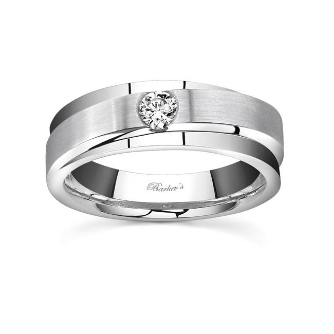Diamond Wedding Band 7594G Image 1