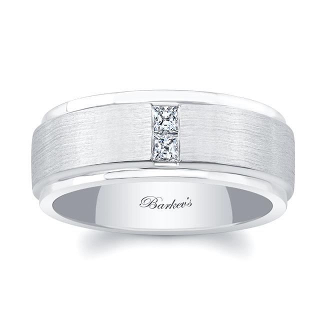 Princess Cut Diamond Wedding Band 7603G