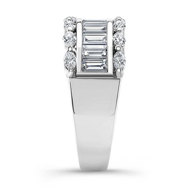 Diamond Wedding Band 8068L Image 3