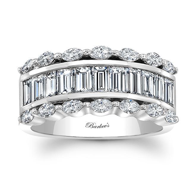 Diamond Wedding Band 8068L Image 1