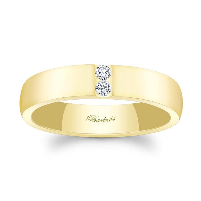 Diamond Wedding Band 8105G_5MM Image 1