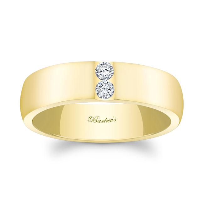 Diamond Wedding Band 8105G_6MM Image 1