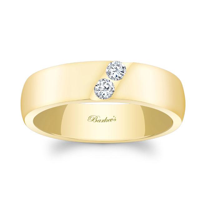 Diamond Wedding Band 8106G_6MM Image 1