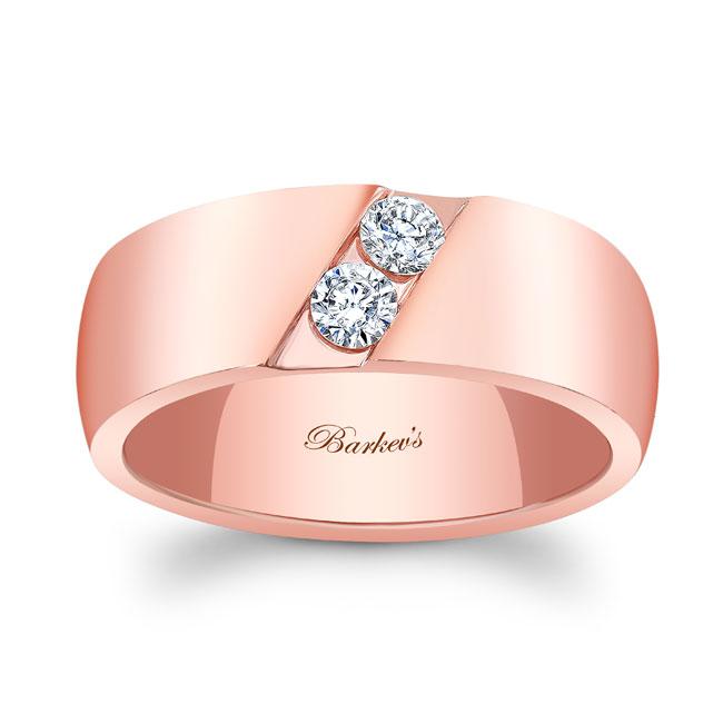 Diamond Wedding Band 8106G_8MM Image 1