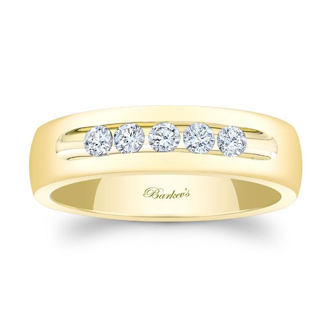 Diamond Wedding Band 8111G_6MM Image 1