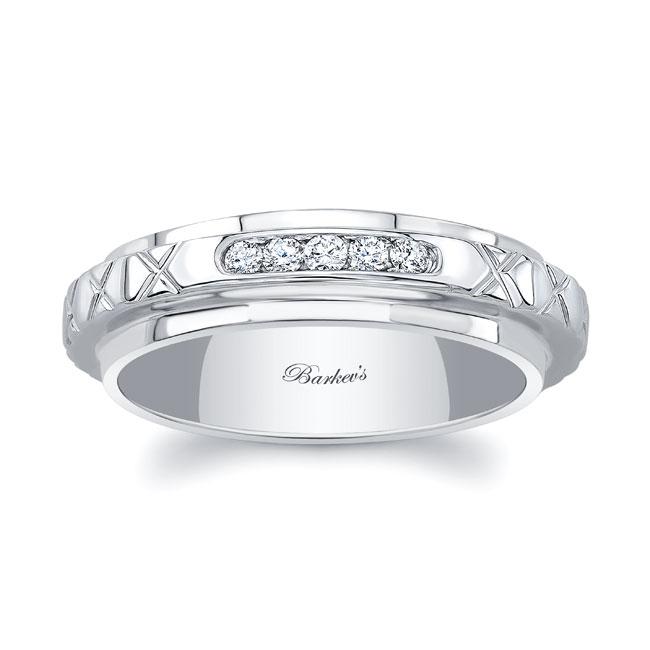 Diamond Wedding Band 8140W