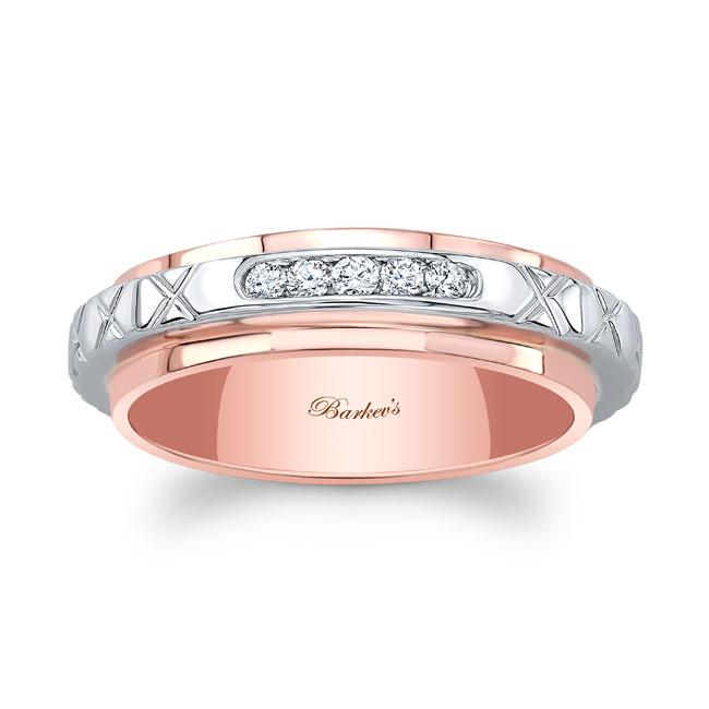 Diamond Wedding Band 8140W Image 1