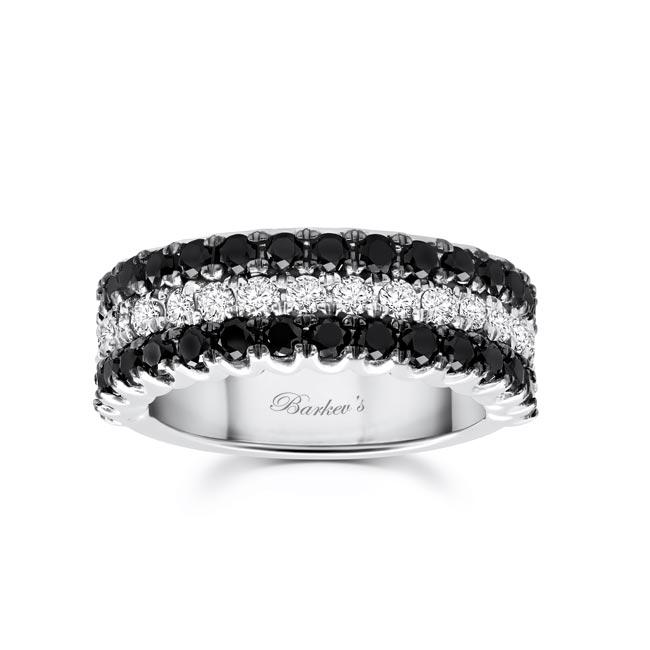 Black Diamond Wedding Band 8155WBK
