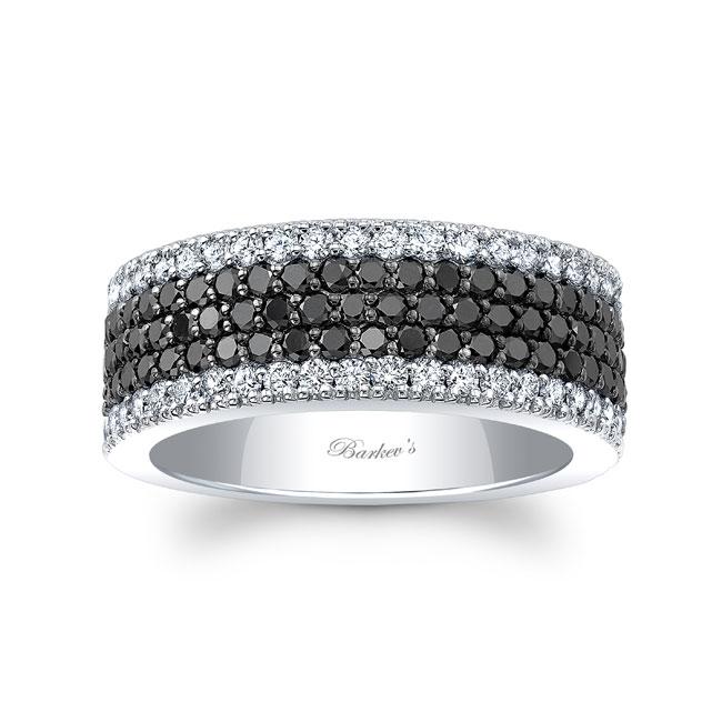 Black Diamond Wedding Band 8215WBK